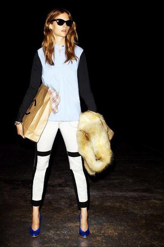 Derek Lam Resort 2013: Plastic Bags, Hair Colors, Crosby Derek Lam, White Pants, Resorts 2013, Lam Resorts, I Derekla, Resort2013, 10 Crosby