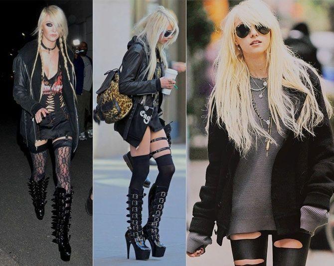 rocker girl fashion | Girls rock style