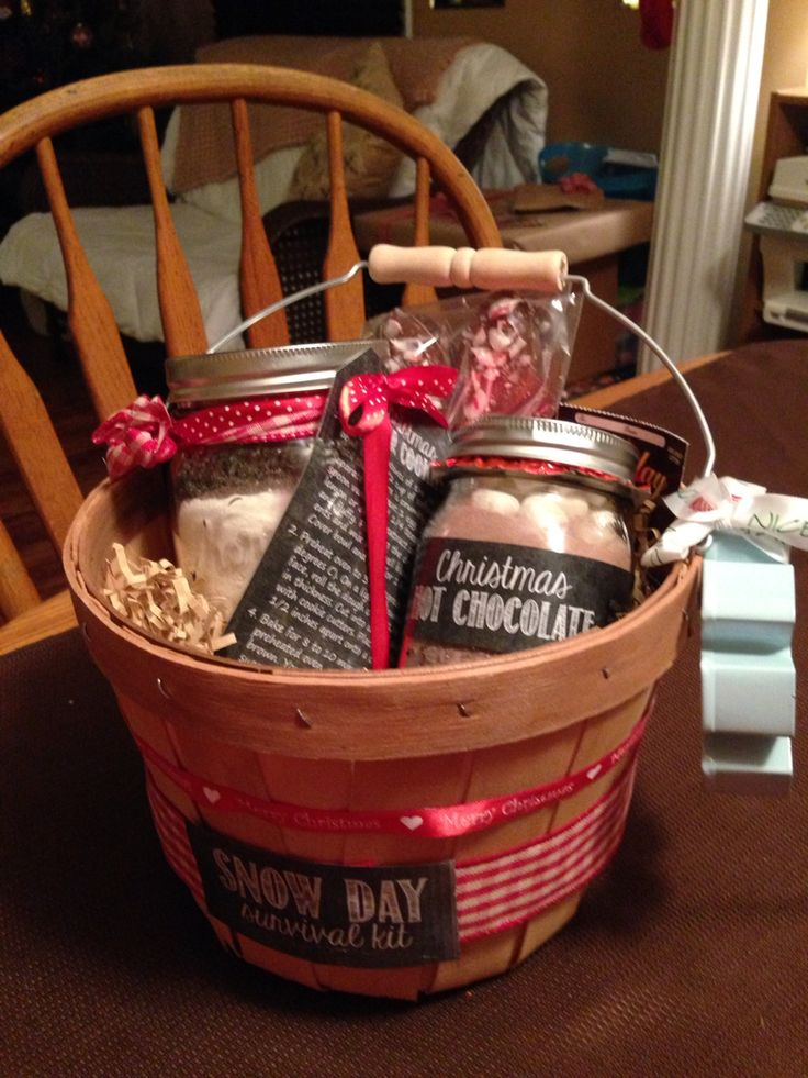 Snow Day Survival Kit Grab Bag Gift Things Made By Me