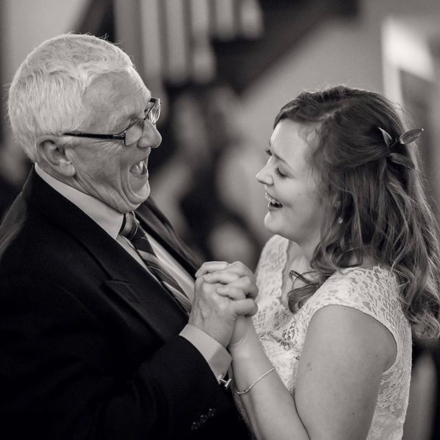 Beautiful moment between father and daughter during their dance #weddingmoment #wedding #firstdance #weddings @serenitycottage