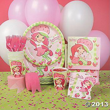Strawberry Shortcake Party Supplies