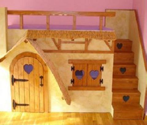 Habitaciones tematizadas y personalizadas para ni os for Cuartos para ninas 2 anos