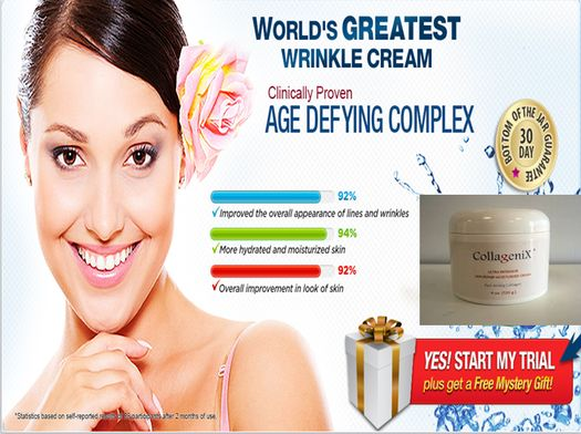 The #Collagenix anti #aging #product has been praised for its safe formulation and effective wrinkle fighting ingredients.