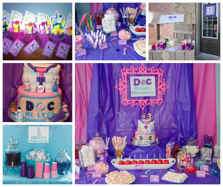 Doc McStuffins Party #DocMcStuffinsParty #CandyParty #TheDocIsIn #DoctorKit #DocPartyFavours #DocClinic #FlutterBloomEvents