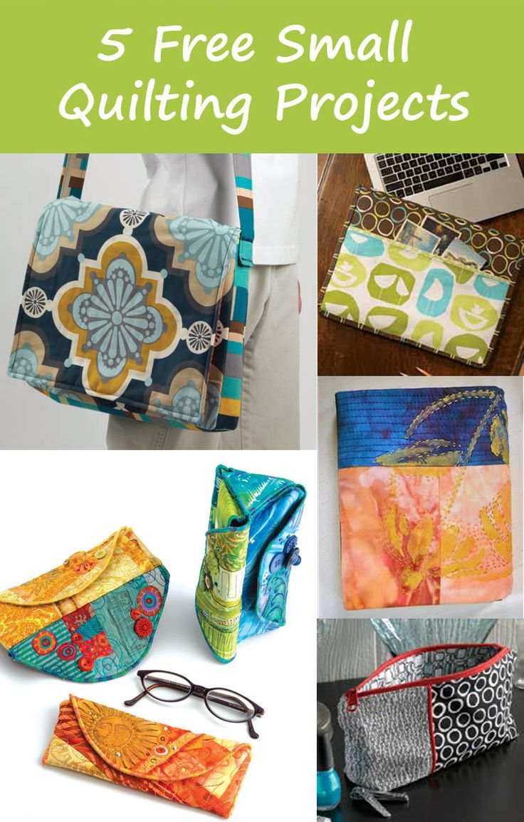64 best Small Quilting Projects images on Pinterest | Christmas ... : small quilt projects - Adamdwight.com