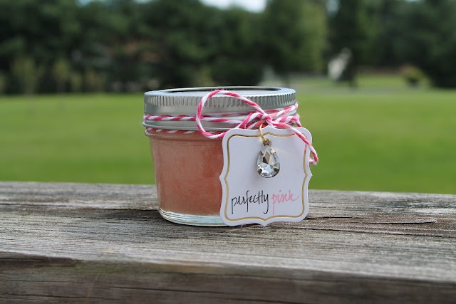 At the Pink of Perfection: Perfectly Pink: DIY Handscrub