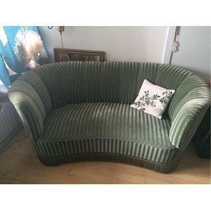 Sofa, velour, 2 pers., Supe...