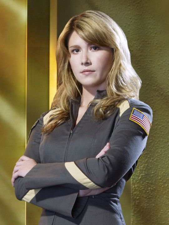 Jewel Staite as Jennifer Keller...SGA ... but FIRST SHE WAS ON FIREFLY!!!