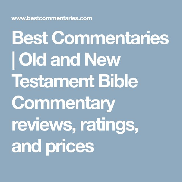 old testament bible commentary pdf