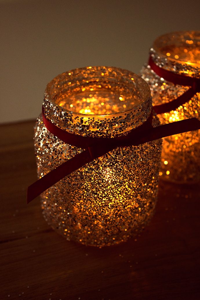 How to Make Christmas Jam Jar Decorations | Party Delights Blog