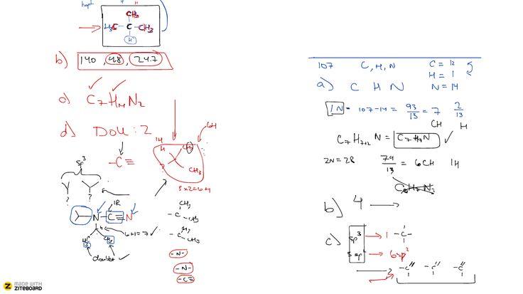 Ziteboard whiteboard chemistry