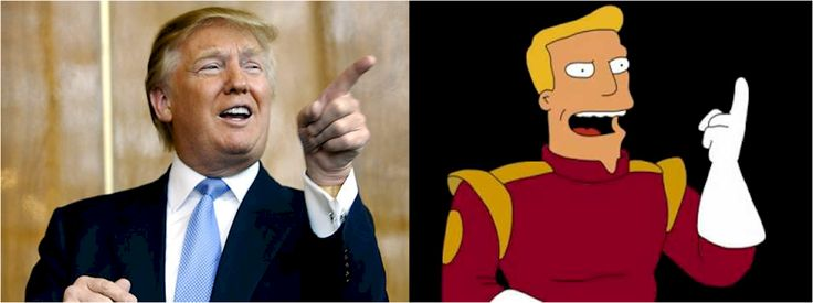 If The Top 2016 Presidential Candidates Were Cartoon Characters