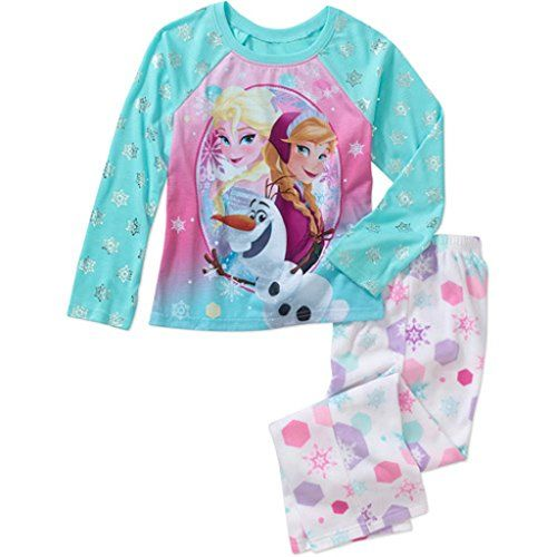 This Disney Frozen pajama set will keep your little princess warm and cozy,  even in the depths of winter (hopefully not an eternal one).