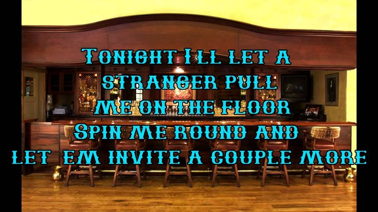 Bartender Lady Antebellum Lyrics
