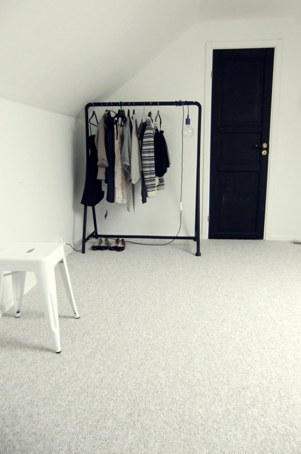Porte habits chambre pinterest clothes rail ikea for Porte habits