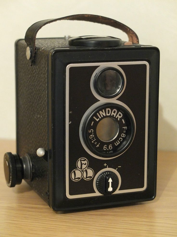 Lindar Box Camera Made In Western Germany Shipping From