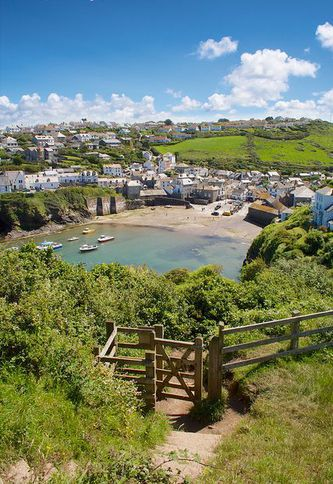 Gate To Port Isaac * Cornwall * England