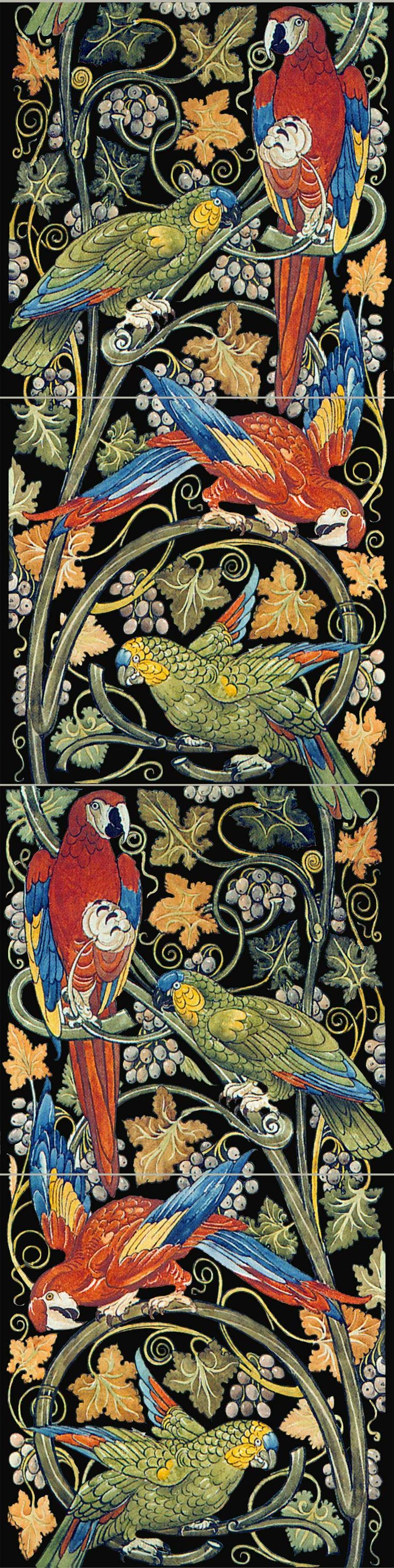 How to order William Morris Arts and Crafts Tile