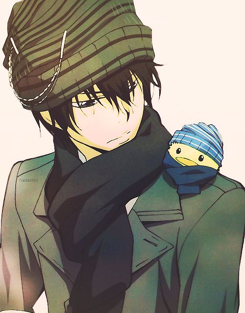 Hibari (Katekyo Hitman Reborn!) Don't know why but for some reason I feel that Prussia (Gilbert) & Hibari could be great friends due to their similar partners in crime: Gilbird & Hibird. XD