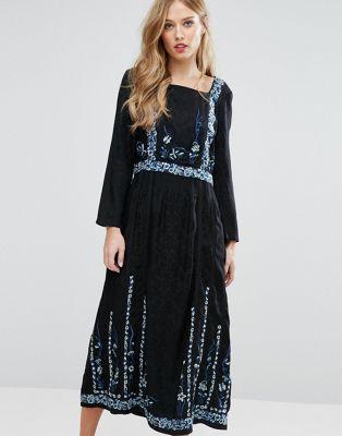 Трикотажное платье French Connection Argento