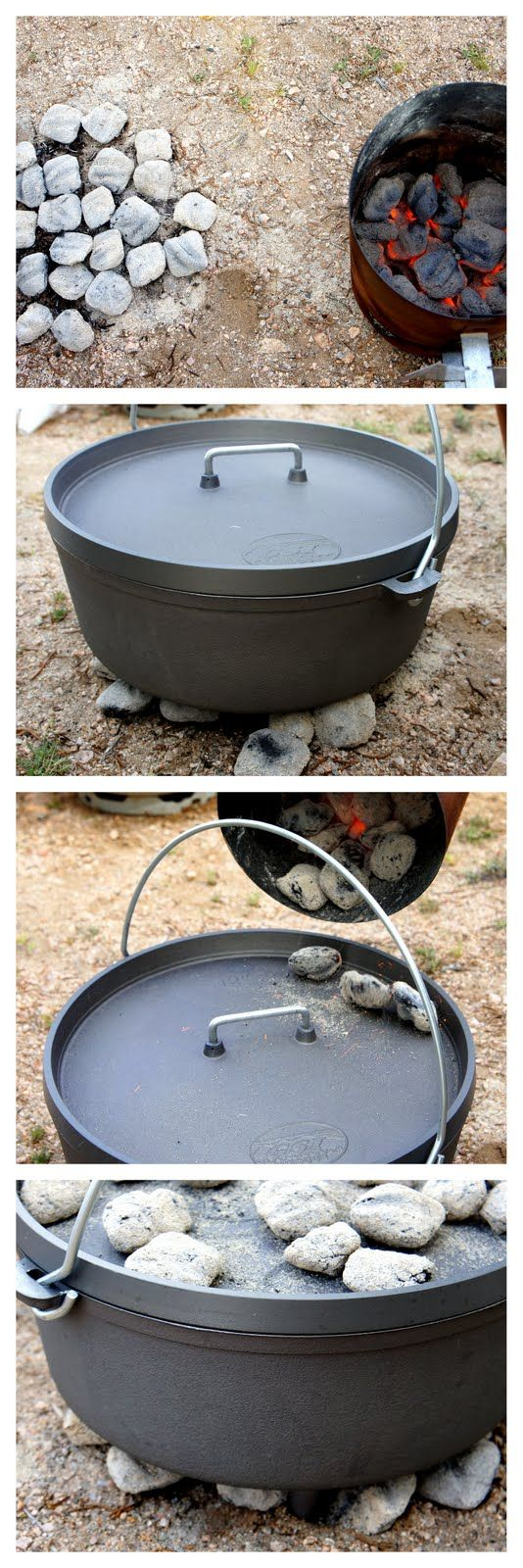 Two great Dutch oven recipes - BBQ Pork Ribs and Peach Cobbler!