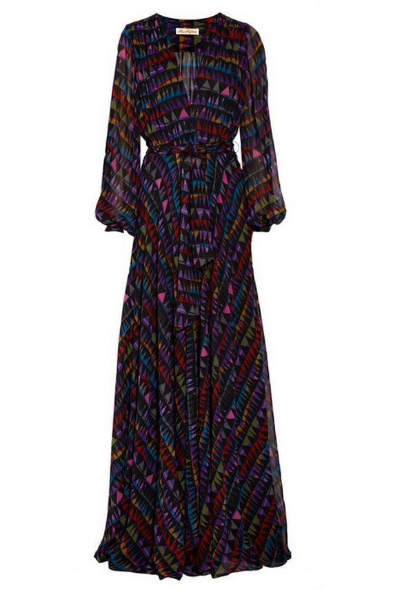 cool long sleeve maxi dress