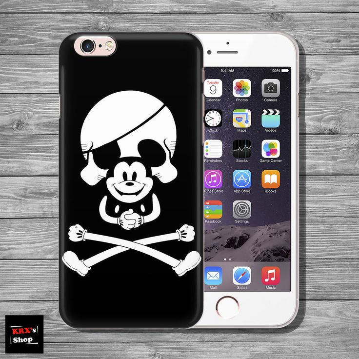 Mickey Mouse Disney Skull THIN case cover iPhone 4s 5c 5 5s SE 6 6s 7 8 plus+
