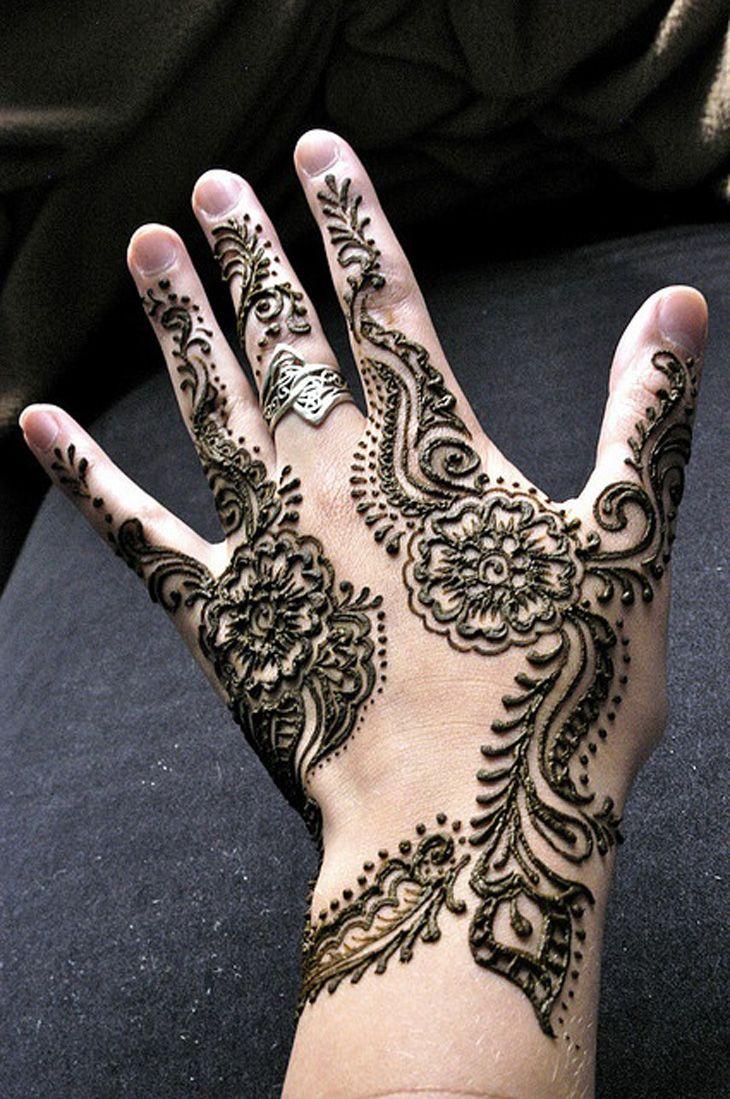 Top 10 beautiful arabic mehndi design art - Henna Mehndi12 Beautiful Mehndi Designs