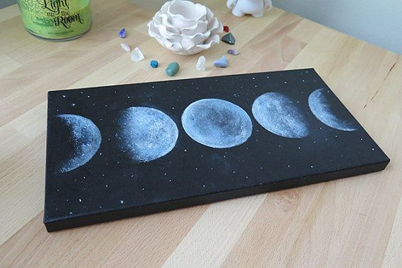 Moon Phase Original Painting                                                                                                                                                      More