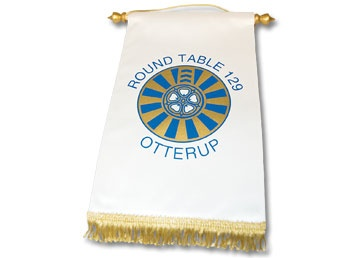 Round Table 129 Otterup. Round Table Klubbanner. Bliv inspireret online på www.jef.dk eller kontakt os på T: 70 27 41 11 eller E: info@jef.dk