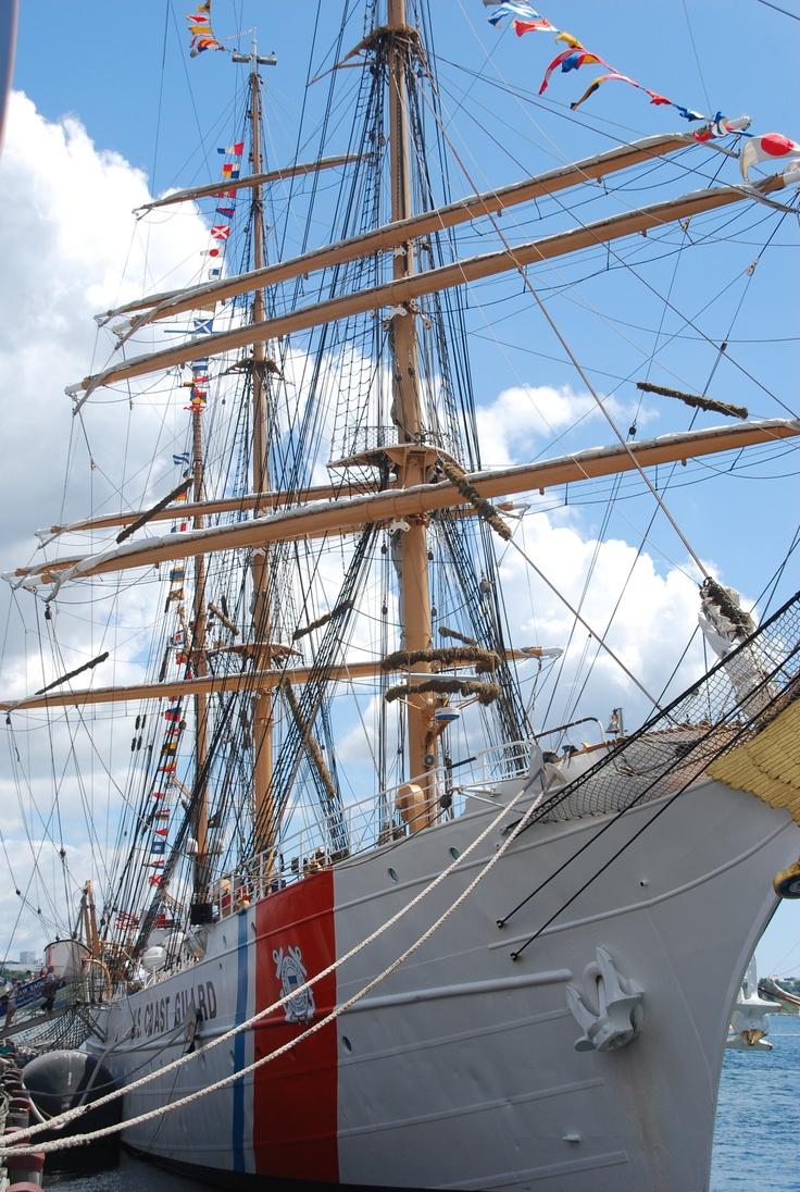 Tall ships Halifax port, 2012