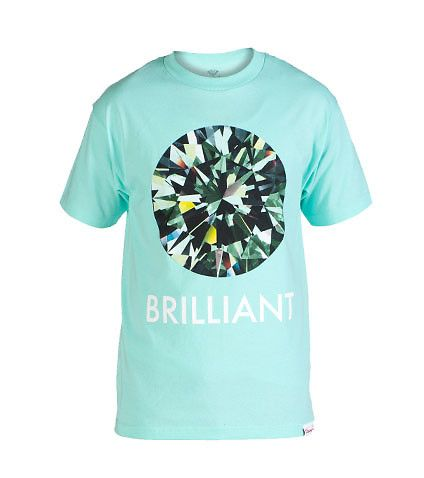 DIAMOND SUPPLY COMPANY MENS BRILLIANT TEE Medium Green