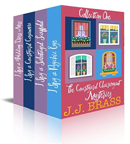 https://www.amazon.com/dp/B073ZM1HG5?tag=dondes-20 #ace #LGBTQIA #cozy #mystery #series The Courtyard Clairvoyant Mysteries Collection One by J.J. Brass