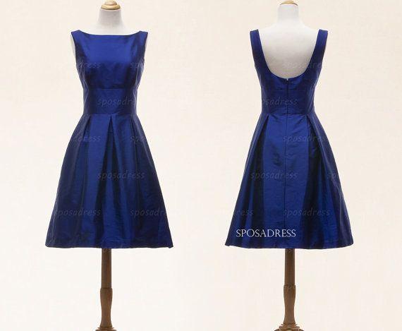 Vestidos de fiesta corto, vestidos de azul, vestidos menores de 100, vestidos de 2014, vestidos de Dama de honor, vestidos de fiesta, vestidos de negro, RE314