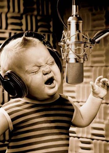 9 lullabies to sing to your baby at bedtime.    Seriously realizing I had forgotten all of these and need them