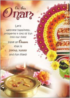 On this #Onam Let's welcome happiness, prosperity & lots of fun into our…