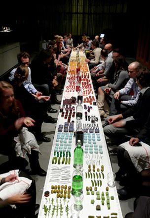 House of Origin. color palette dinner party