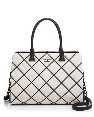 kate spade new york Emerson Place Overlay Olive Satchel