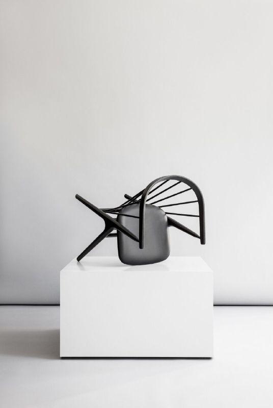 Sibast No 8 by Helge Sibast / Sibast Furniture. Sorensen Leather: Savanne / Black. Photo: Jonas Bjerre-Poulsen / #NORMarchitects #sibastfurniture #sorensenleather