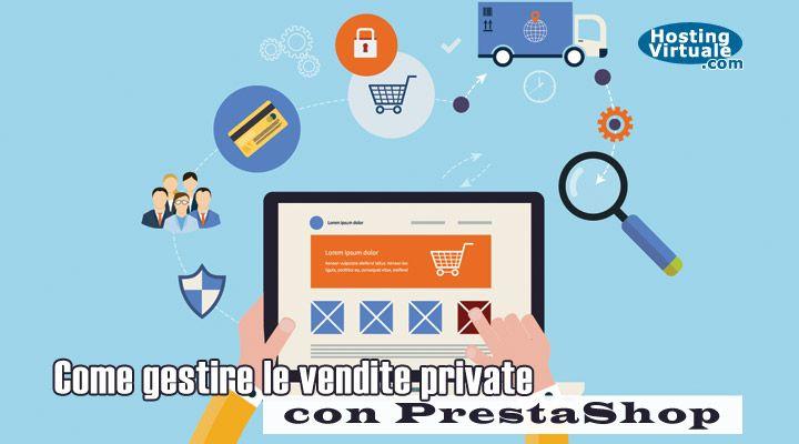 Private Sales è un modulo di PrestaShop che consente di creare vendite private all'interno del tuo negozio online partendo dai prodotti già presenti.