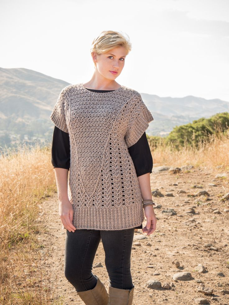 Annie's Signature Autumn Glow Crochet Pattern Collection | sweater