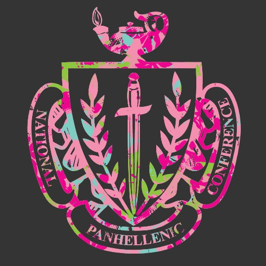 cute panhellenic shirt