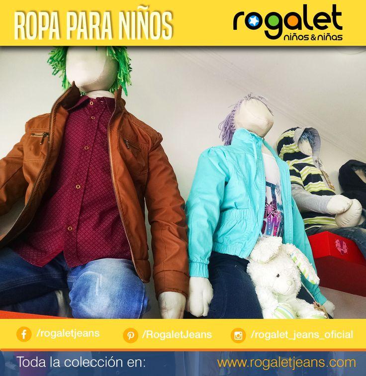 #SábadosDeMadrugón ¡Te estamos esperando!  No te pierdas los increíbles precios que tenemos para ti, somos la empresa número 1 en Ropa infantil para niños en Bogotá.  Visita www.rogaletjeans.com para ver nuestra colección completa.  Feliz sábado para todos