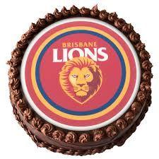 brisbane lions cake - Google Search