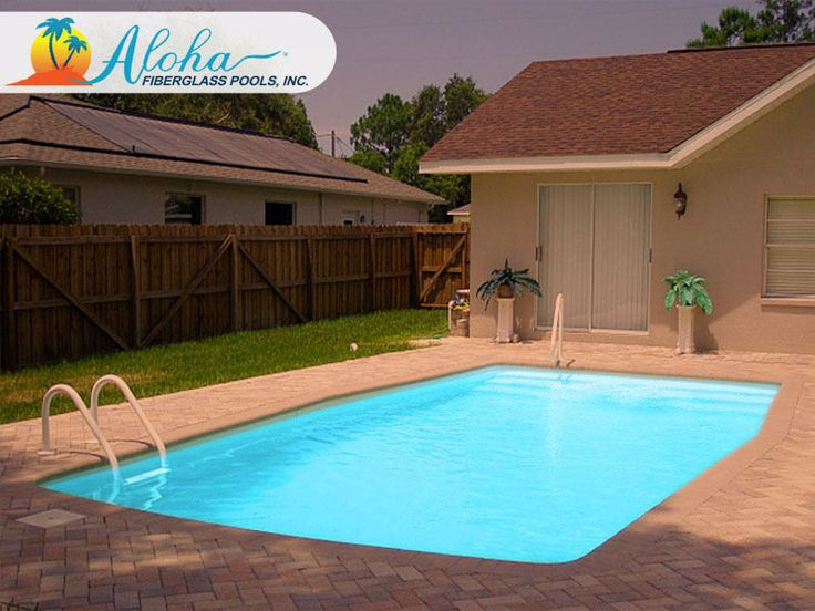 14 best images about modern pools from aloha fiberglass for Find builders in your area
