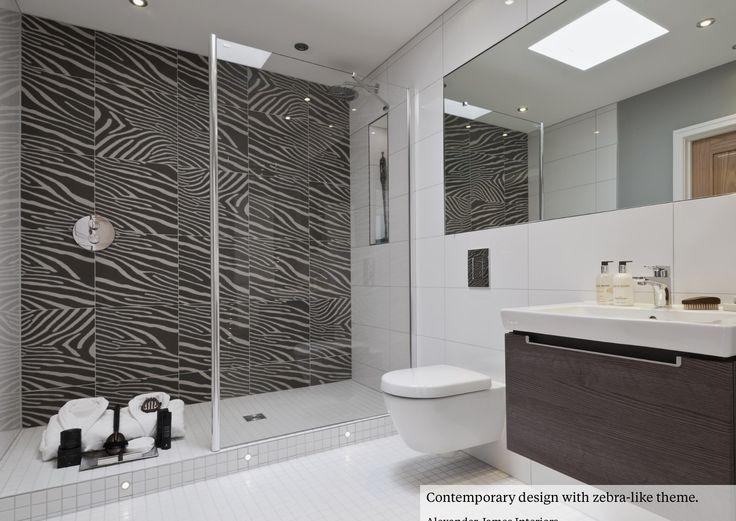 zebra bathroom ideas