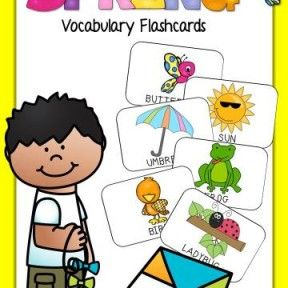 portada flashcards spring