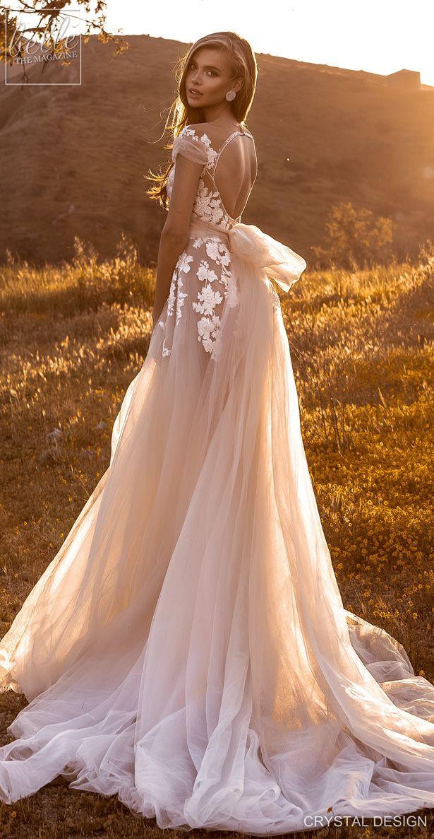 Crystal Design Couture Wedding Dresses 2020 Belle The Magazine Non White Wedding Dresses Wedding Dresses Wedding Dresses Lace