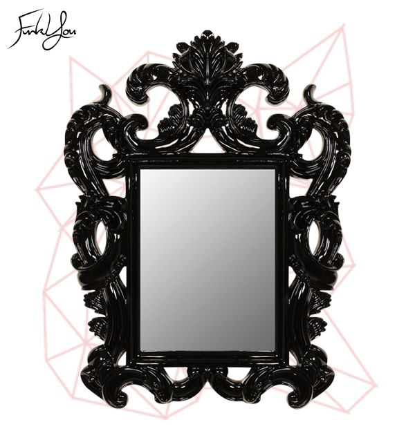 Sophia Mirror Black.  www.funkyou.com.au