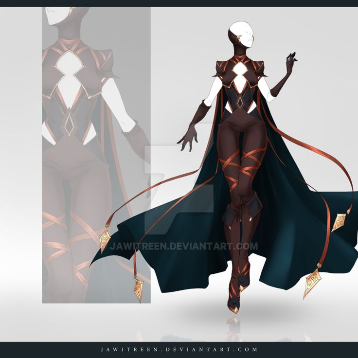 (OPEN) Adoptable Outfit Auction 258 by JawitReen.deviantart.com on @DeviantArt